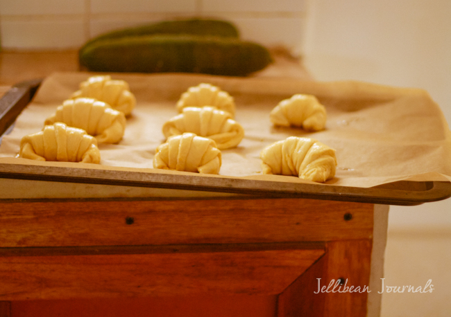 Homemade Croissants Recipe | Jellibean Journals