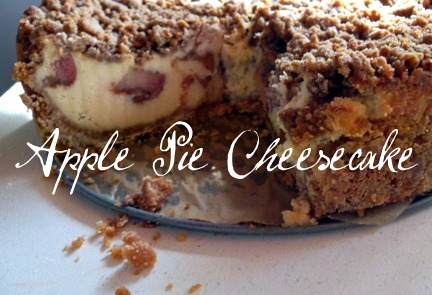 Dutch Apple Pie Cheesecake