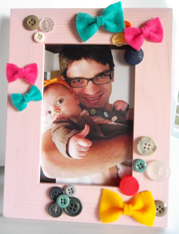 Buttons & Bows Frame