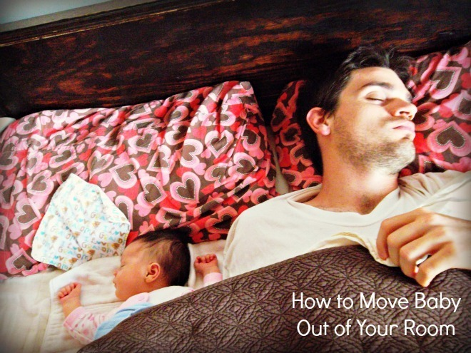 MMM: How to Move Baby Out of Your Room