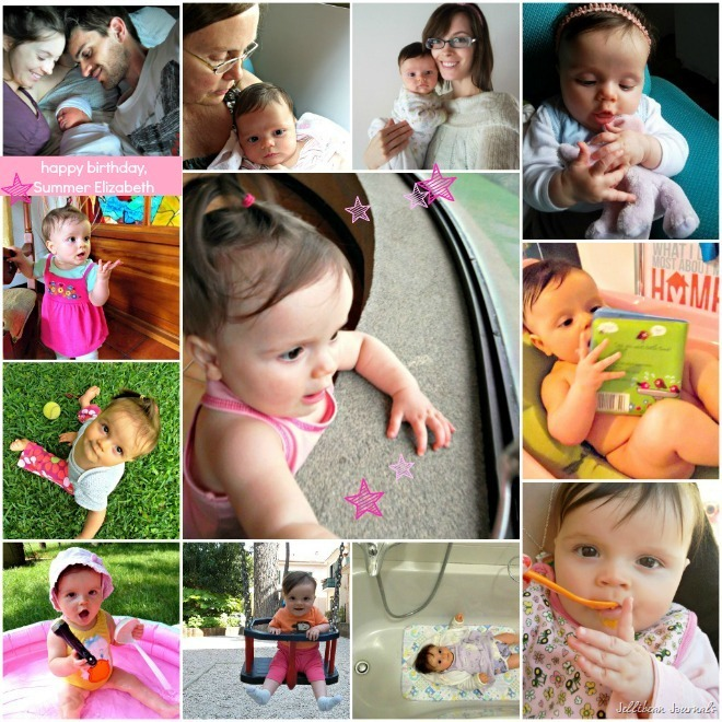 12 Months of My Baby Lady