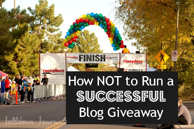 Run Successful Blog Giveaway