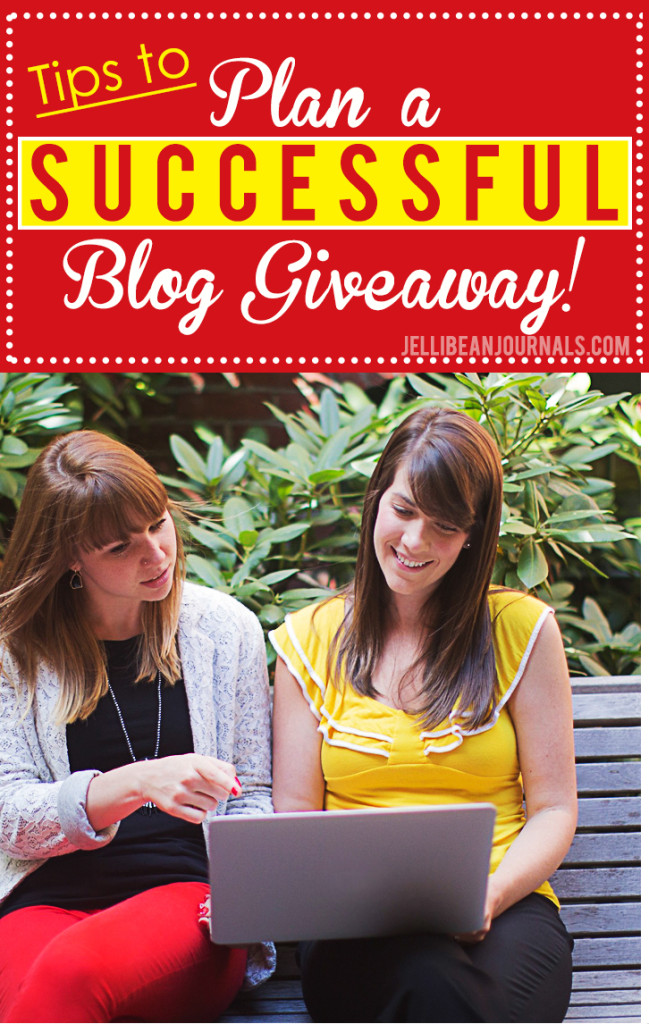 Tips to make your next blog giveaway a mega success! J