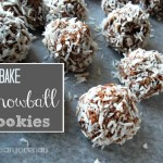 no bake snowball cookies