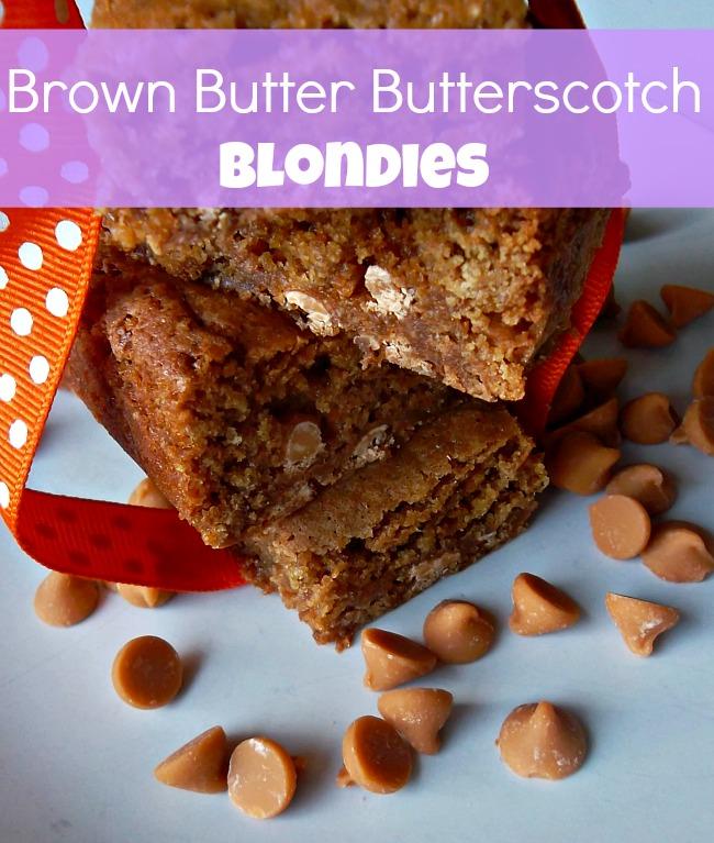 brown butter butterscotch blondies