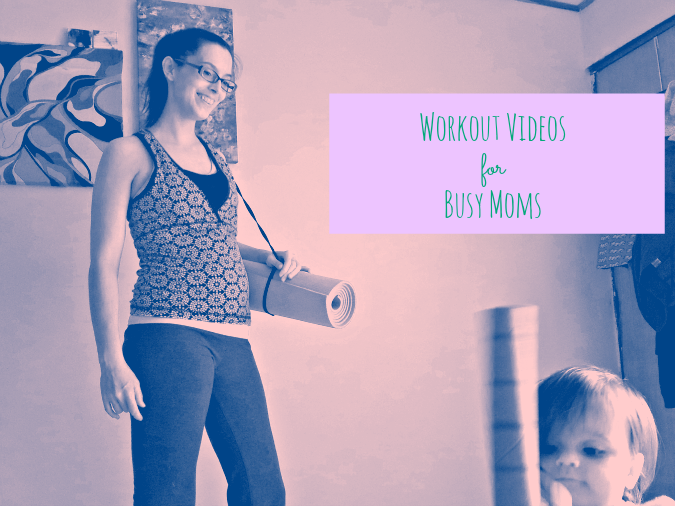 quick mom workout videos