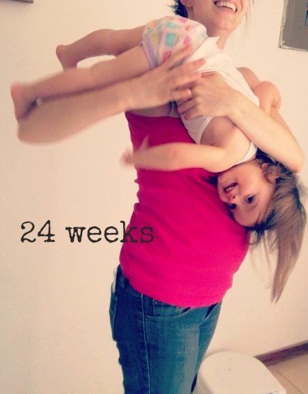 Baby Belly: 24 Weeks - Jellibean Journals