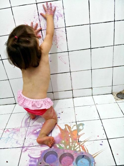 edible bath paint