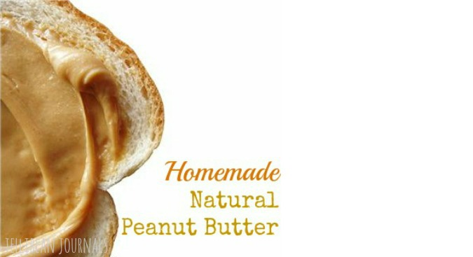natural peanut butter recipe no oil