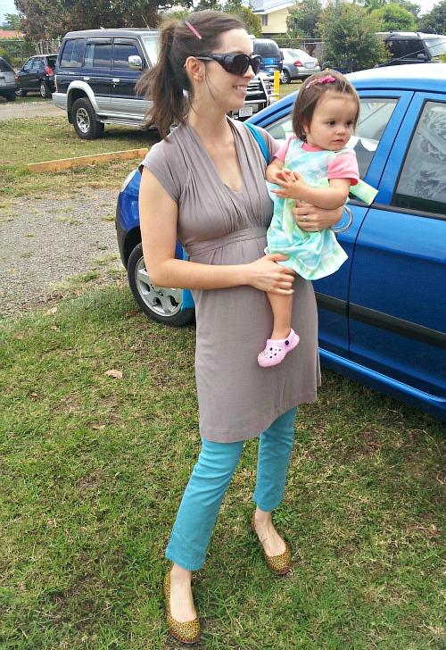 seraphine maternity tunic