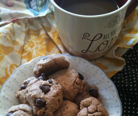 skinny chocolate chunk cookies pamelas heavenly treats