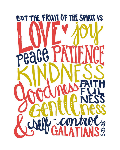 fruit of the spirit printable
