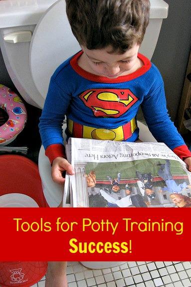 potty training super hero
