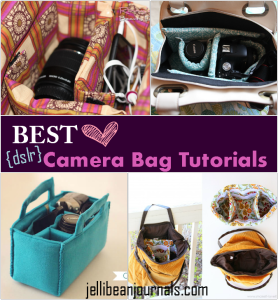 Best DSLR Camera Bag Tutorials #dslr #camerabag | JellibeanJournals.com