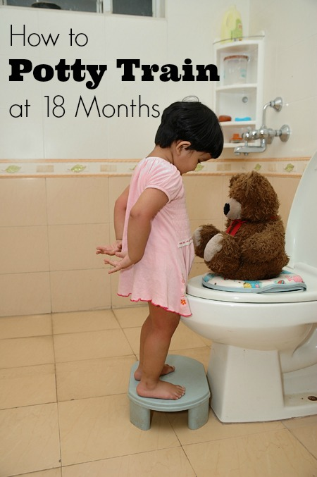 How to Potty Train Early at 18 Months. | JellibeanJournals.com