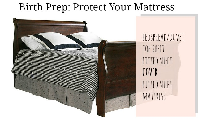 Birth Prep: Protect Your Mattress! // Jellibean Journals