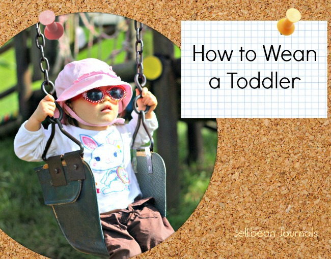 how to wean a toddler day and night