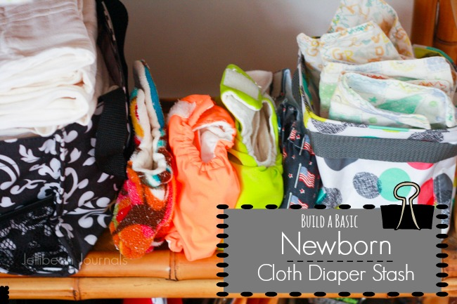 My Newborn Cloth Diaper Stash