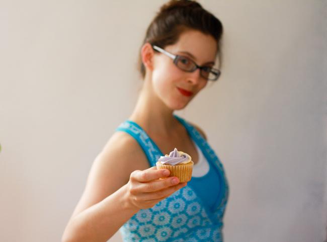 tender vanilla cupcakes / jellibean journals