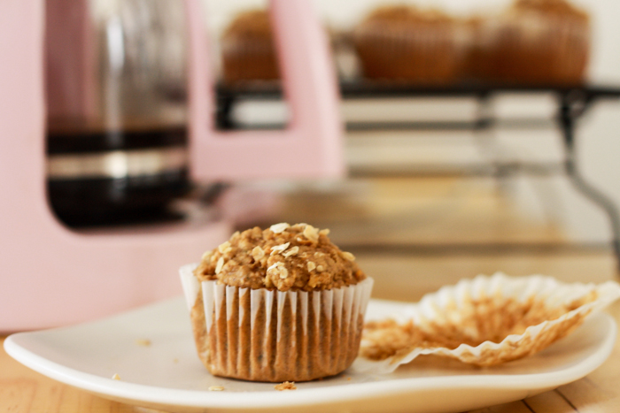 Wholesome Spiced Carrot Muffins   JellibeanJournals.com #muffins