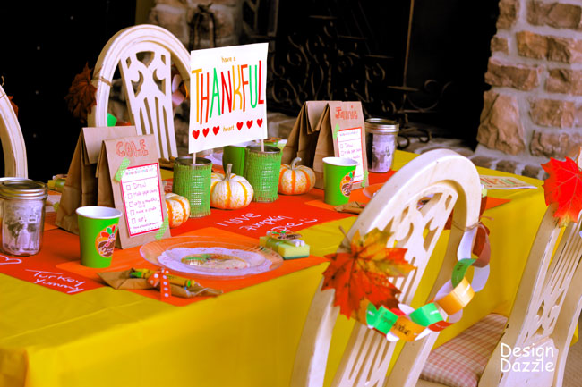Free Thanksgiving Printables for Kids | Jellibean Journals