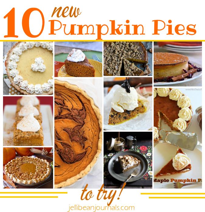 10 Unconventional Pumpkin Pies