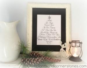 Christ-Centered Christmas Decor on a Budget| JellibeanJournals.com