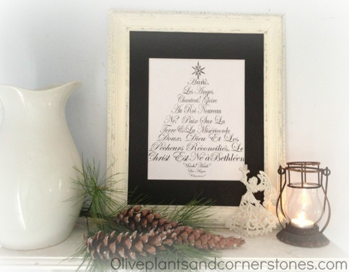 Christ-Centered Christmas Decor on a Budget| JellibeanJournals.com