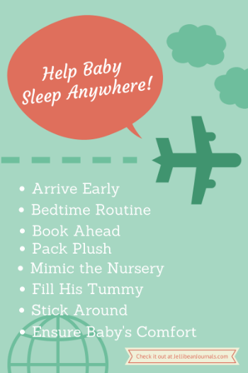 Help Baby Sleep Anywhere! #parenting tips | JellibeanJournals.com
