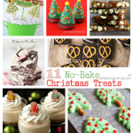 11 No-Bake Christmas Treats for #dessert in a hurry! #christmas at JellibeanJournals.com