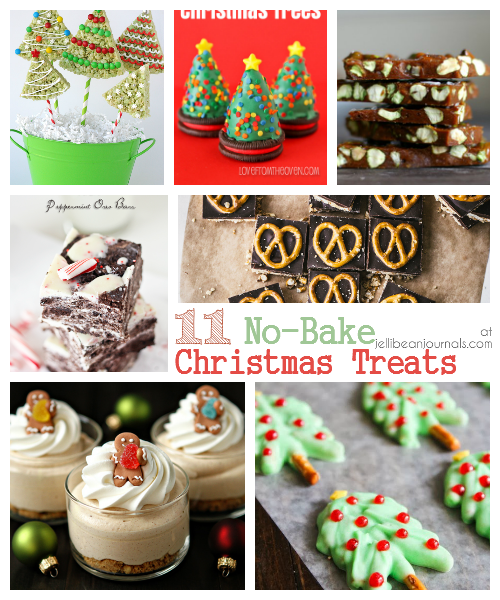 11 No Bake Christmas Treats Jellibean Journals