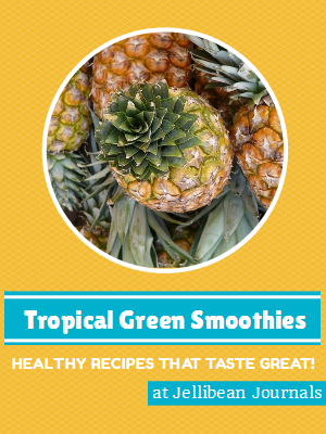 Tropical Green Smoothie Recipes Kick-start your day with a healthy & delicious smoothie!   Jellibean Journals