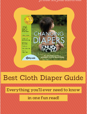 Best Cloth Diaper Guide- Everything you'll need to know about #clothdiapers | Jellibean Journals