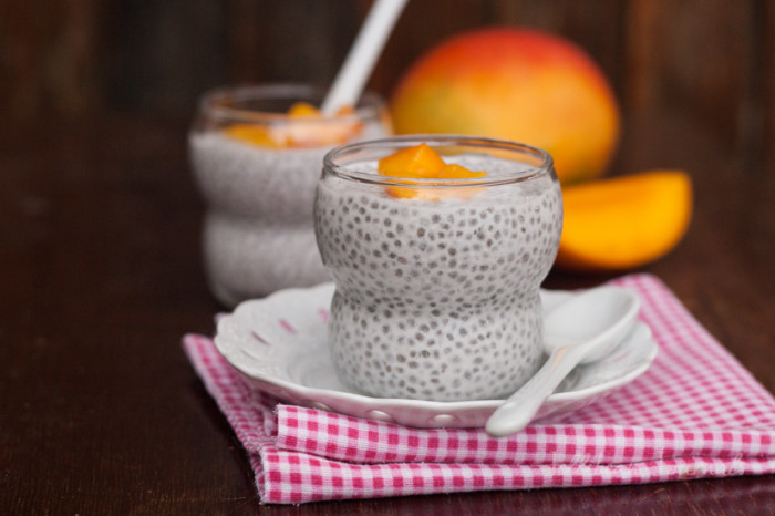 Mango Coconut Chia Pudding- a delicious and healthy treat made by ...