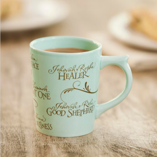 Pretty Dayspring Mug
