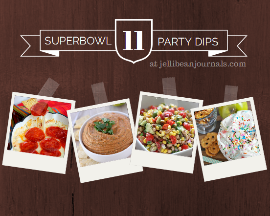Superbowl Dips your Game Day Buddies will Love! | JellibeanJournals.com
