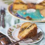 Fig Walnut Streusel Coffee Cake from JellibeanJournals.com