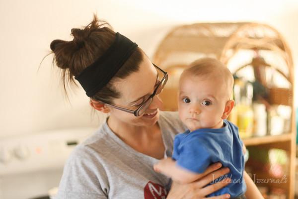 Eight Month Little Man
