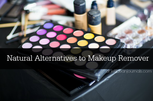 Natural Makeup Removers- makeup glides off with these products you've already got on hand! #skincare #naturalbeauty #makeup from JellibeanJournals.com