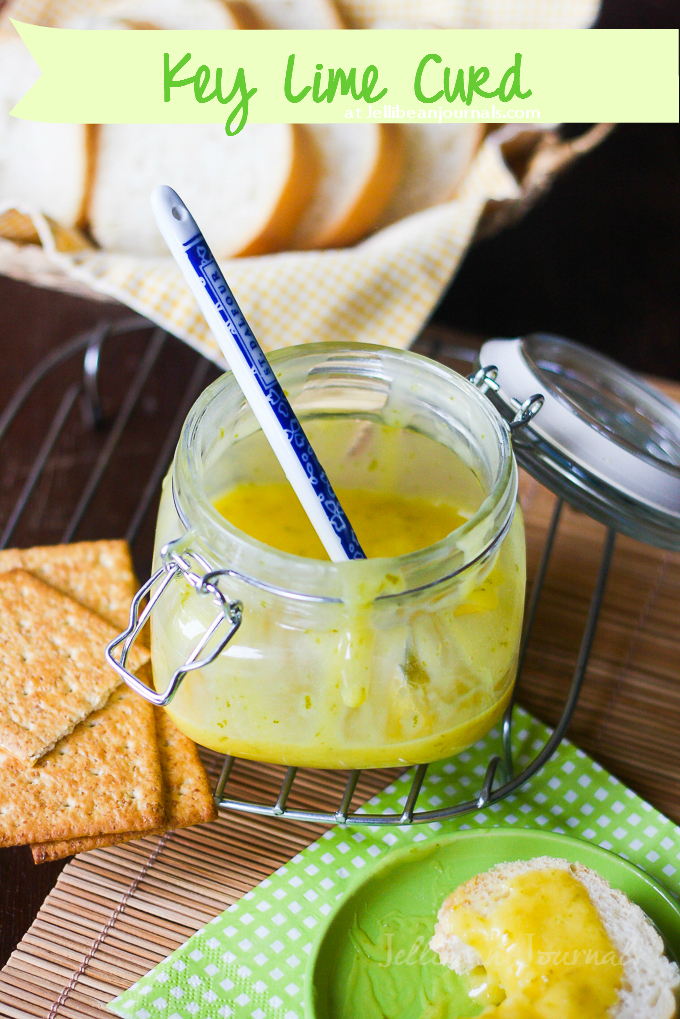 Key Lime Curd at JellibeanJournals.com