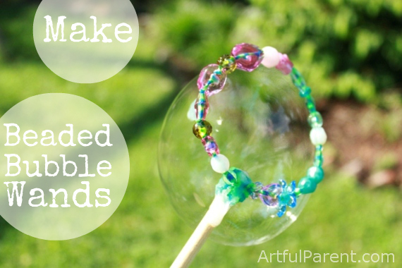 DIY Bubble Toys | Jellibeanjournals.com