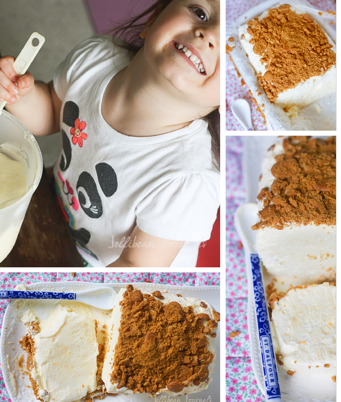 Lemon Semifreddo *Only 3 ingredients!* | Jellibeanjournals.com