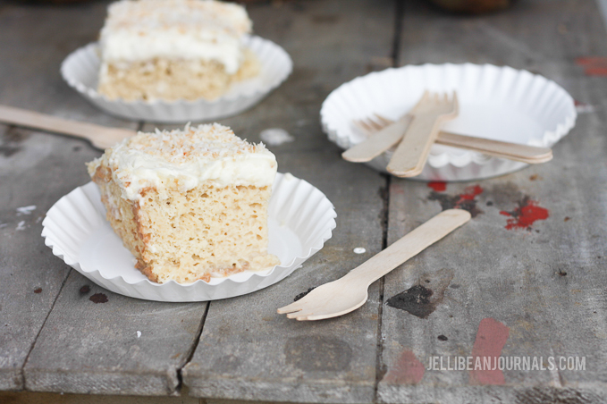 Coconut Tres Leches Cake at Jellibeanjournals.com