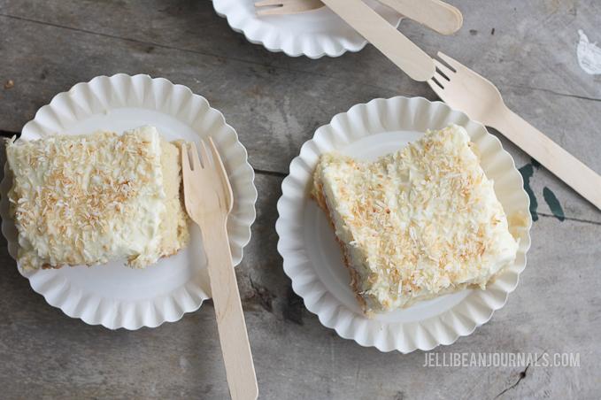 Coconut Tres Leches Cake Recipe | Jellibeanjournals.com