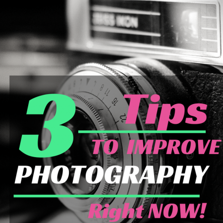 Improve your photography no matter what camera you use! | Jellibeanjournals.com