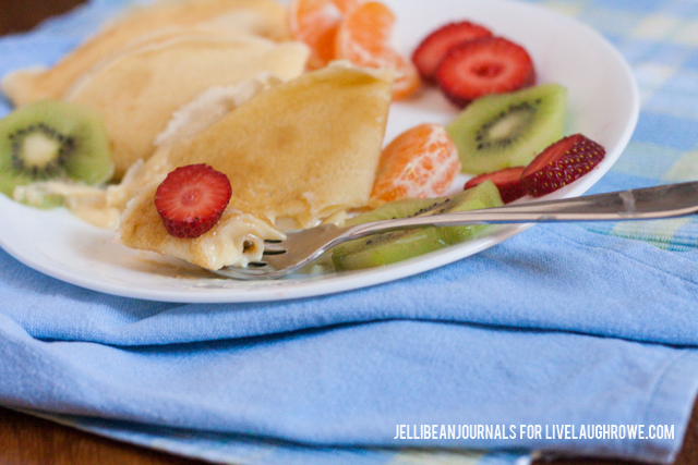 Lemon Cream Crepes