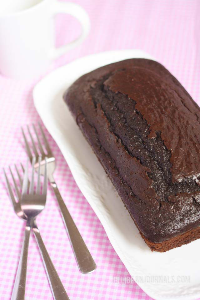 chocolate loaf cake recipe-2