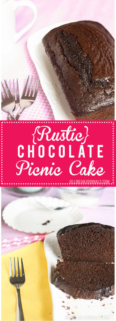 Rustic Chocolate Picnic Cake is decadent and full of chocolate flavor, but so low-maintenance you can take it anywhere. No forks neccesary, slice and serve!