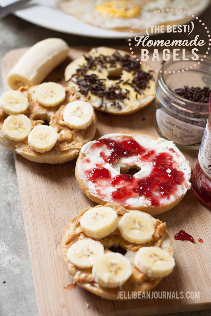 Yummy easy bagels recipe your family will love