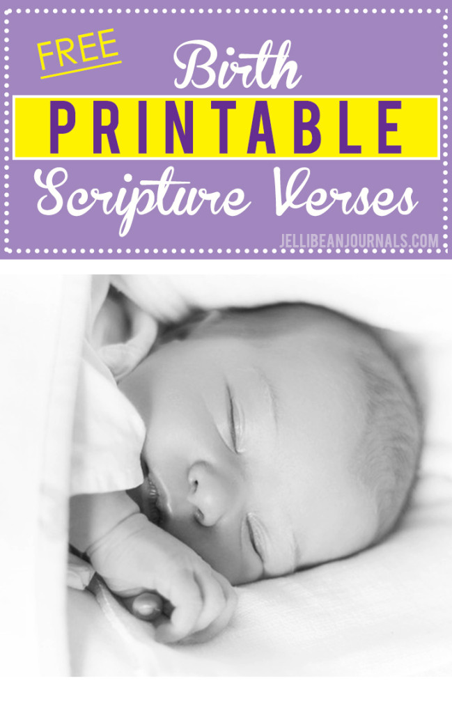 Bible verses for labor and birth printable